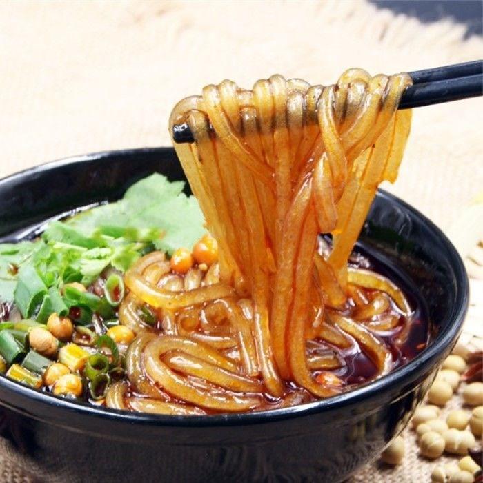 重庆酸辣粉专用手工红薯粉条红薯宽粉条火锅粉2-5斤