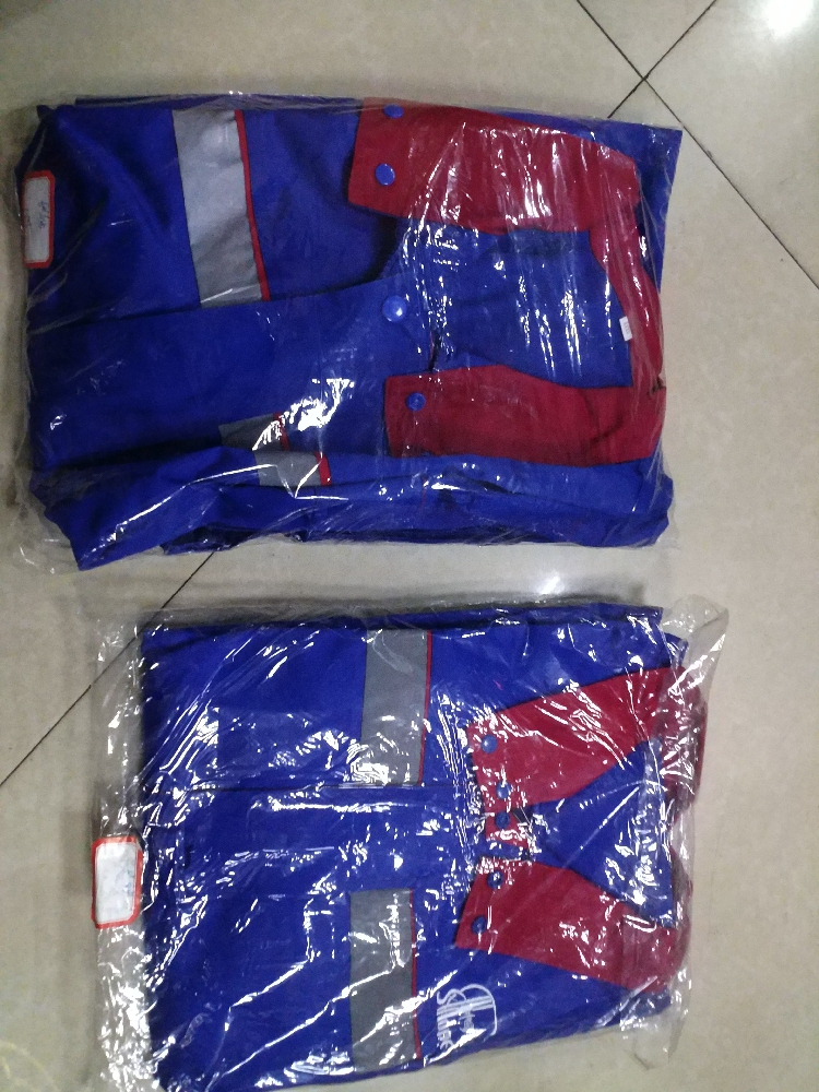 Anti static overalls, trousers, oil depot uniform of PetroChina Sinopec gas station can be customized
