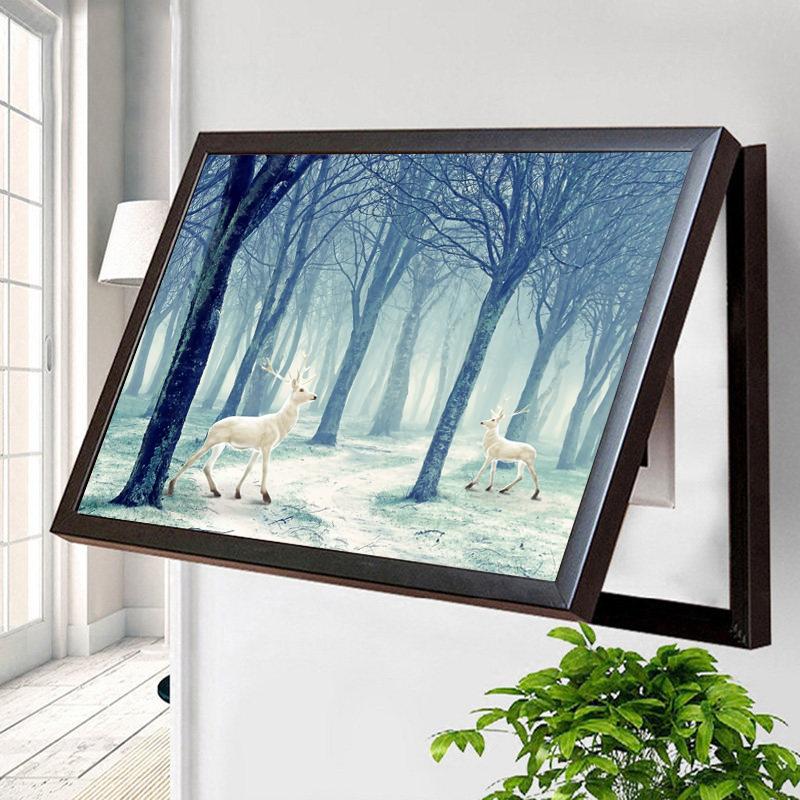 电表箱免打孔北欧风格现代简约挂画59.13元包邮