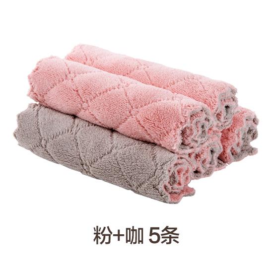水方巾厨房厂家家用油擦碗的专用布餐饮吸纯棉餐厅用具抹布不粘
