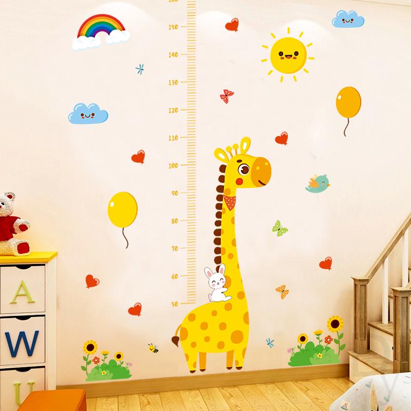 卡通动物宝宝卧室客厅测量身高尺评价好不好