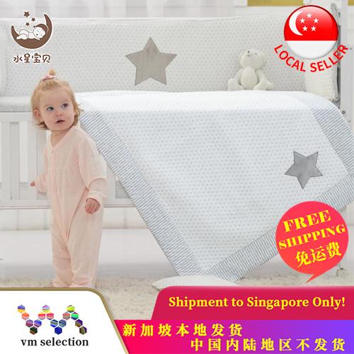 Mercury水星Newborn Cotton Comfortable Set of 5 Bedding Set