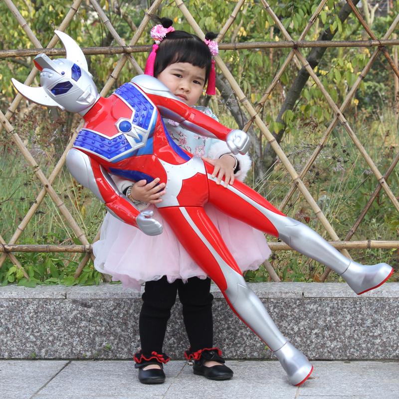 超大号奥特曼玩具捷德迪迦泰罗赛罗银河超人变身器变形套装机器人