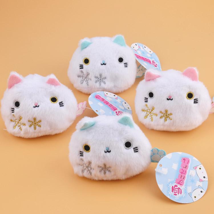 掌沙包公仔沙包玩偶萌物日本靴下猫 团子 龙猫 豆沙猫小猫咪手