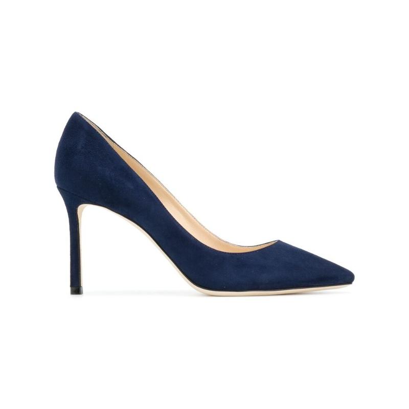 Italian straight hair Jimmy Choo Zhou Yangjie 2021 autumn winter womens shoes womens shoes high heels