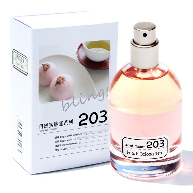 自然实验室203白桃乌龙茶淡香水, 水蜜桃味,100元左右送女生礼物