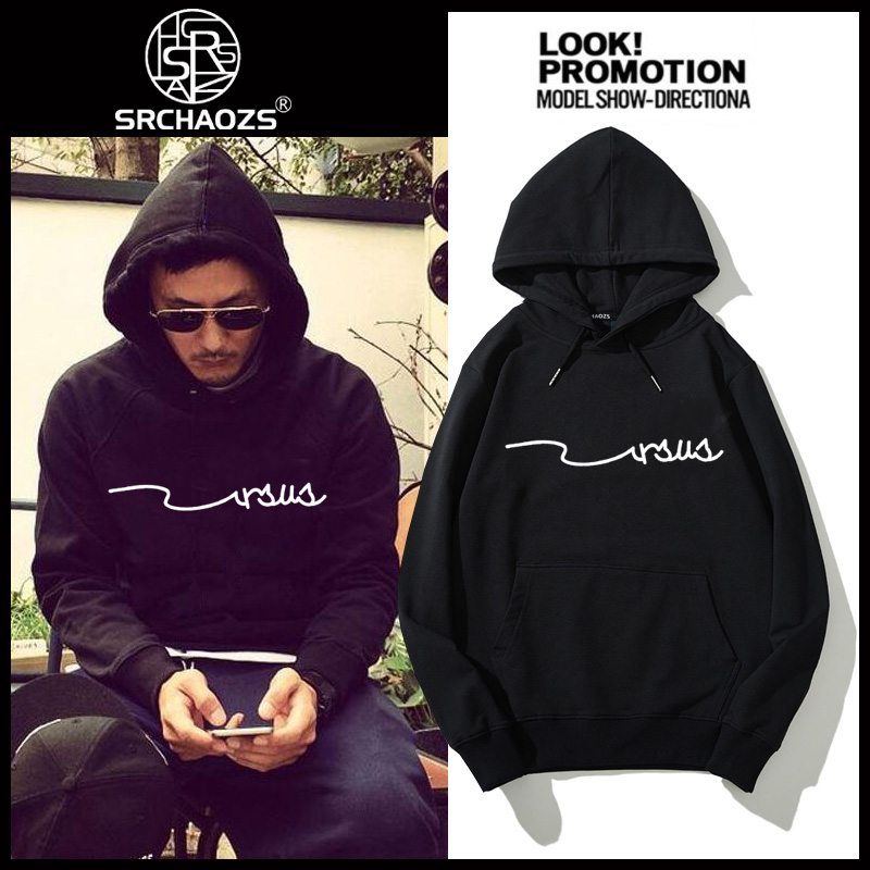 New mens hooded sweater in autumn and winter 2020