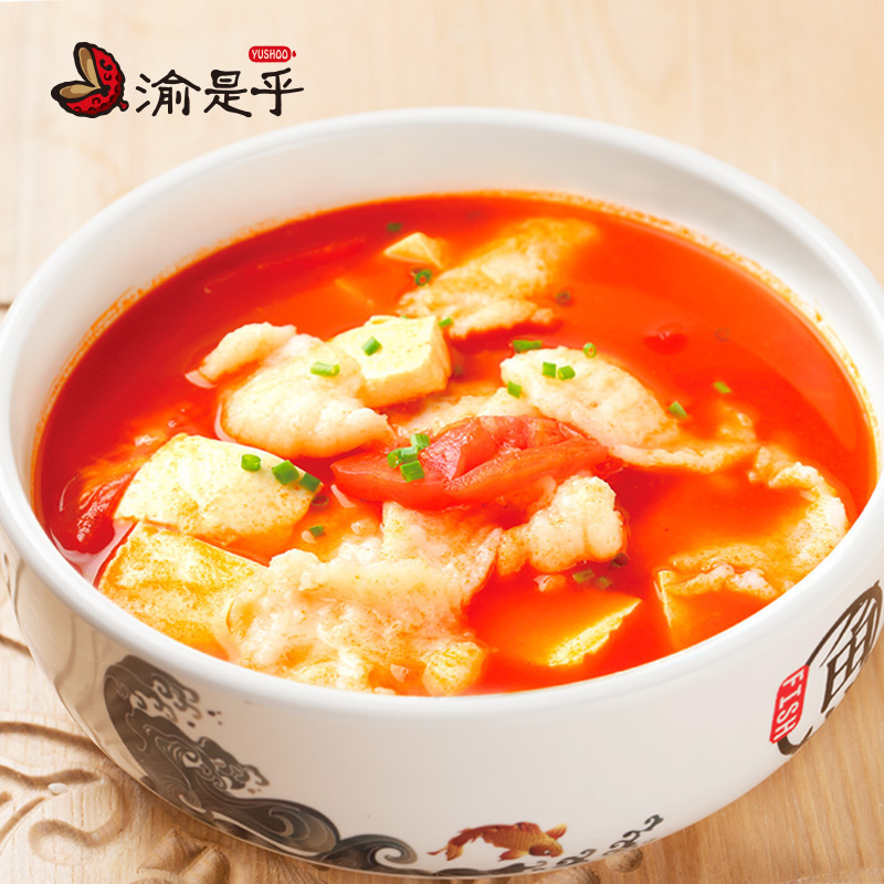 Yushihu tomato fish seasoning package tomato fish hot pot seasoning tomato soup rice noodles beef brisket seasoning