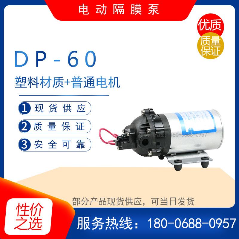 DP-60微型高压电动隔膜泵 自吸水泵 地毯清洗扫泵 增压喷雾加压泵