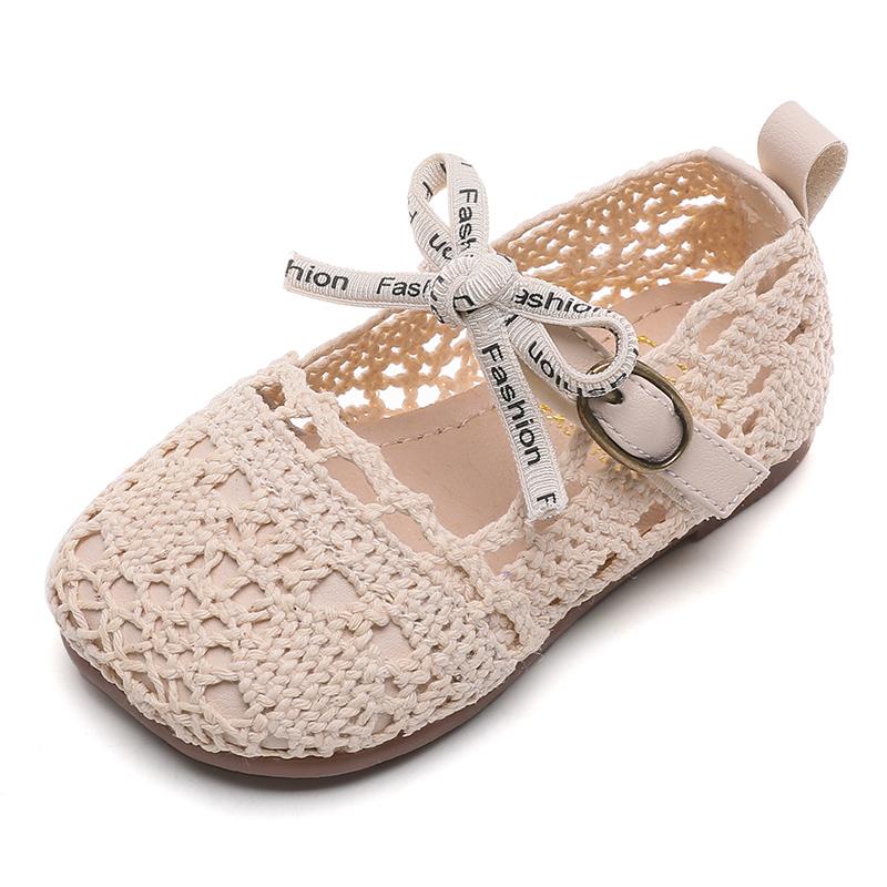 女宝宝公主凉鞋夏季软底透气网鞋质量如何
