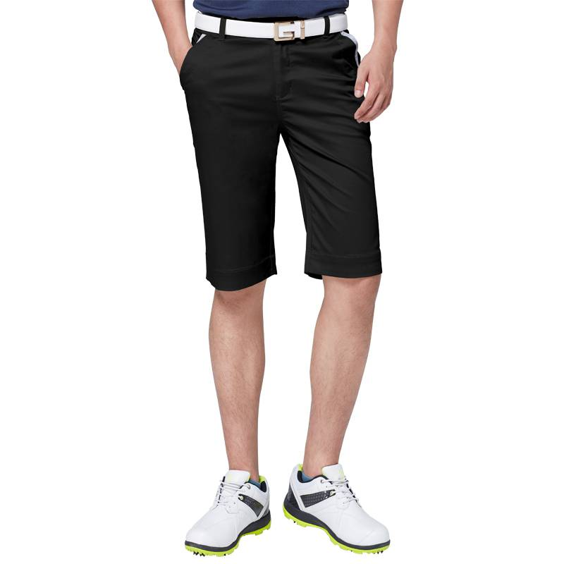 。 free shipping! Golf pants mens shorts summer cotton casual pants five point ball pants clothing ball clothes