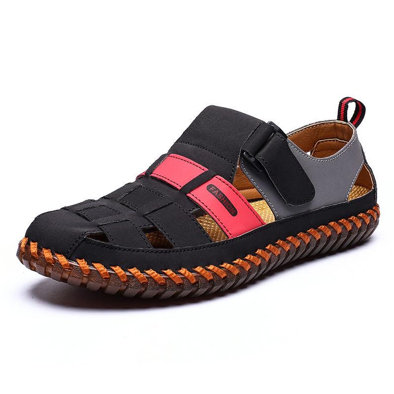 2020夏季新款男凉鞋沙滩凉鞋登山户外休闲凉鞋水陆两用潮流男凉鞋
