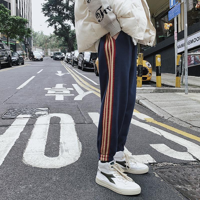 包邮bf男友风2019春季新款学生潮哈伦裤