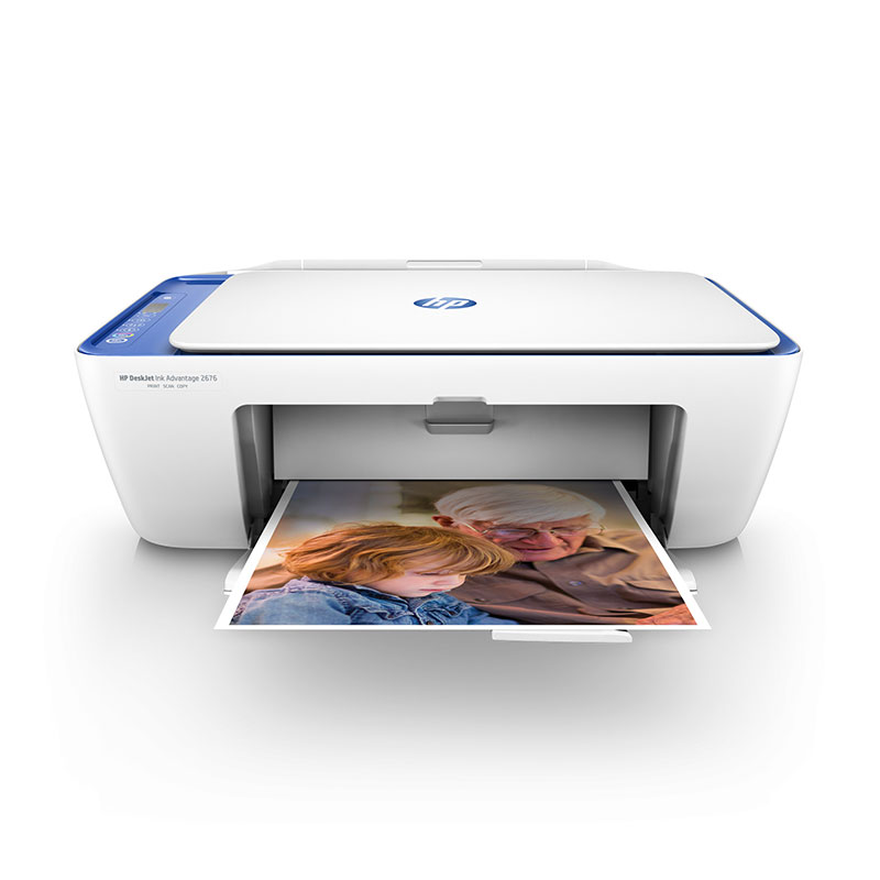HP HP 2676 printer copy scan 2777 home small all-in-one machine A4 mobile phone wireless wifi color inkjet student family photo photo office multifunctional three-in-one