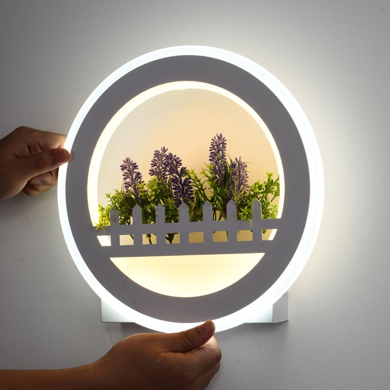 新款北欧简约客厅卧室床头灯壁灯11月12日最新优惠
