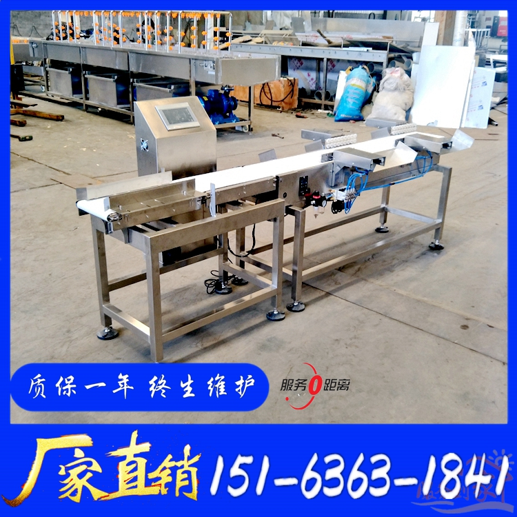 Weight sorter dry cured products weight detection separator automatic customized sorting scale belt type