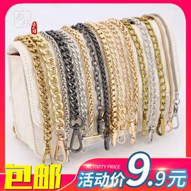 包包链条单买配件包包链子金属链条单肩斜挎小背包带子百搭宽铁链图片