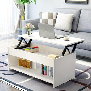 多功能客厅折叠可升降茶几餐桌两用迷你简约现代小户型一体式家用