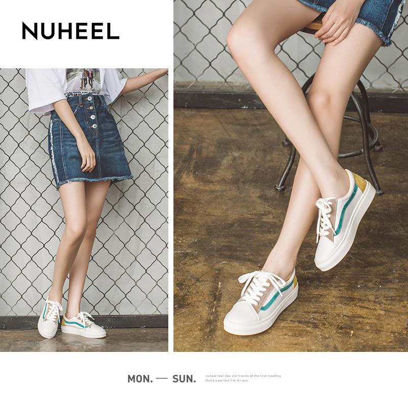 如熙小白鞋女2020春季新款爆款韩版百搭学生平底厚底ins潮板鞋子