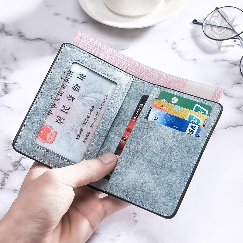 中國代購|中國批發-ibuy99|钱包|钱包男大学生卡包多卡位ins风男生钱包潮牌男士钱夹装卡的小皮夹