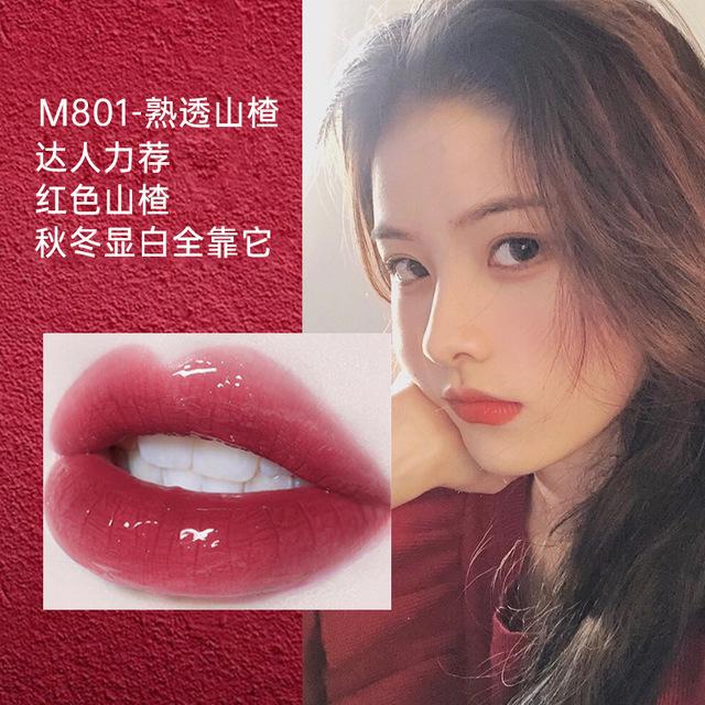 网红镜面唇釉持久保湿不脱色口红可爱学生唇彩唇蜜网红同款染唇液图片