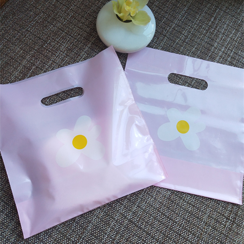 饰品袋子 小号 迷你纸袋塑料密封装耳饰的小袋子耳环防尘收纳礼品