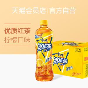 康师傅 冰红茶柠檬味500ml*15瓶 整箱 柠檬茶饮料