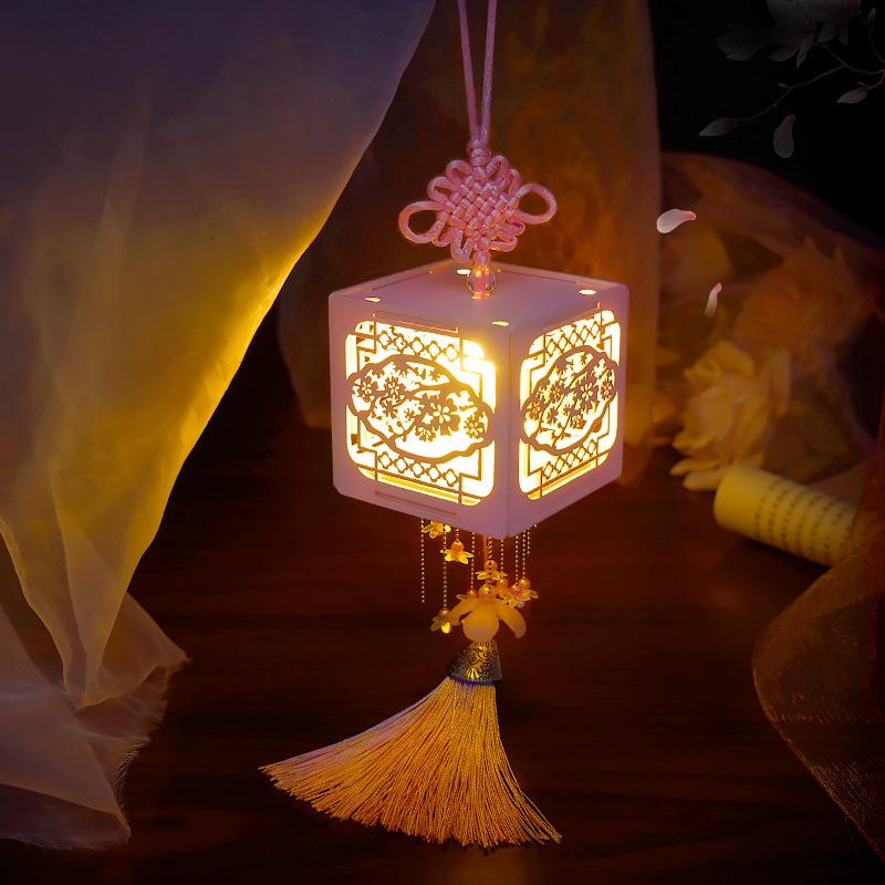 巧之匠diy小屋手工拼装模型迷你中式宫灯灯盒儿童玩具生日礼物女