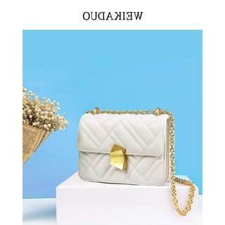 时尚正品牌真皮女包法国小众包包斜挎百搭网红小包链条包高级感包