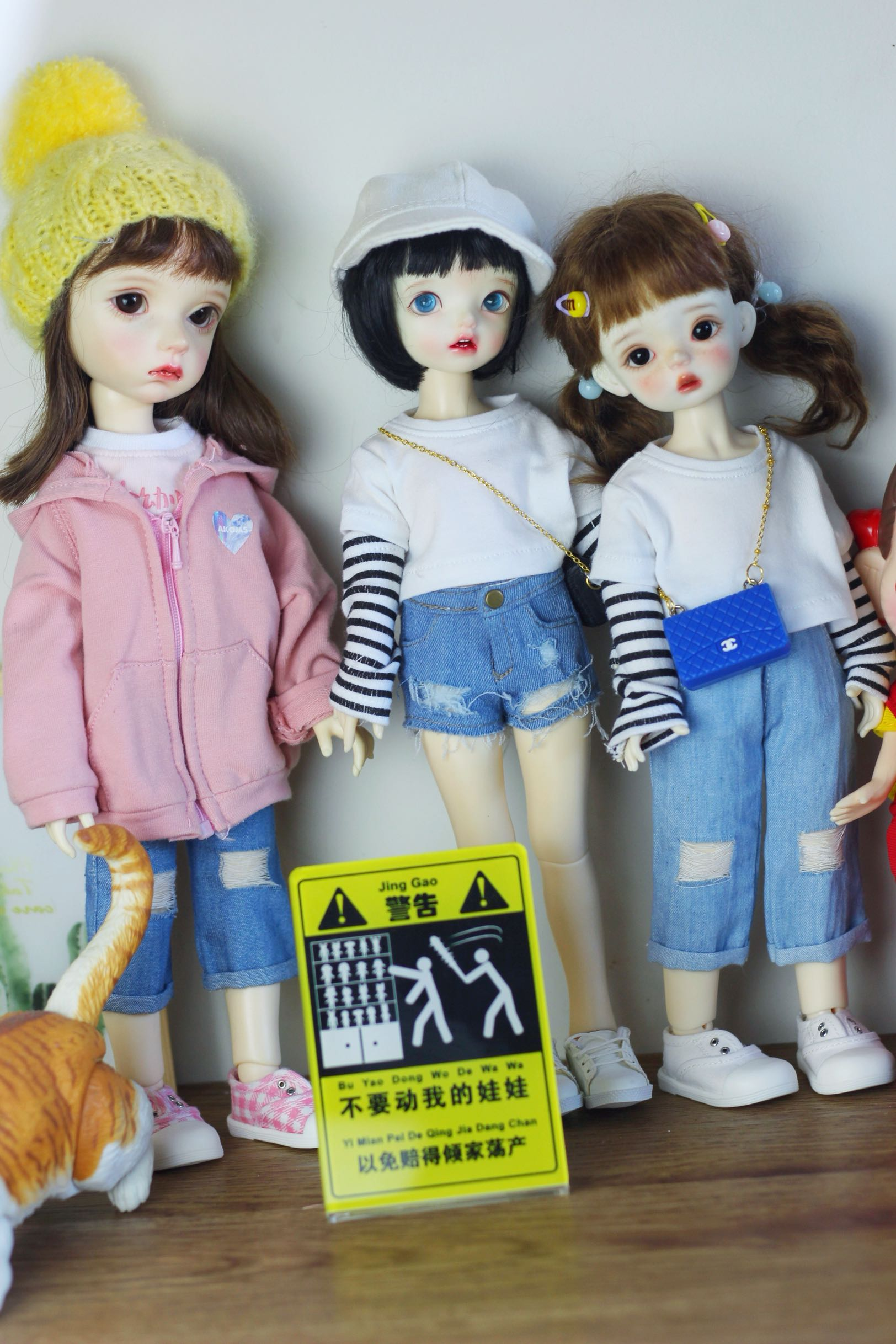 68bjd doll 3468 points ob20cm hand-made props accessories acrylic brand dont touch my doll