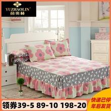 韓国のレースは、厚い綿のベッドカバースカートコットンベッドスカート、ベッドカバー1.8の厚い綿のベッドリネンセットの一枚をベッドカバーキルト