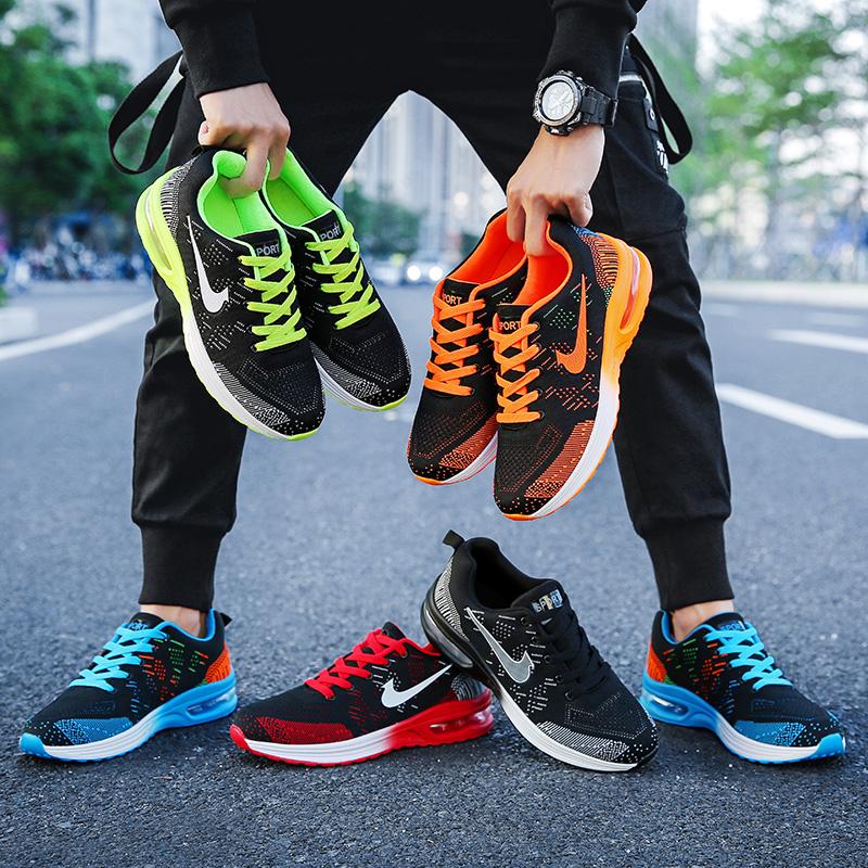 男士情侣鞋秋季透气跑步鞋爱耐克女士运动鞋