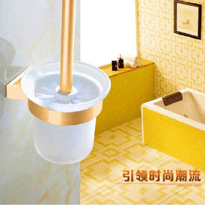 厂家直销支持比价免打孔马桶刷架套装马桶杯 刷子杯子厕所刷用具