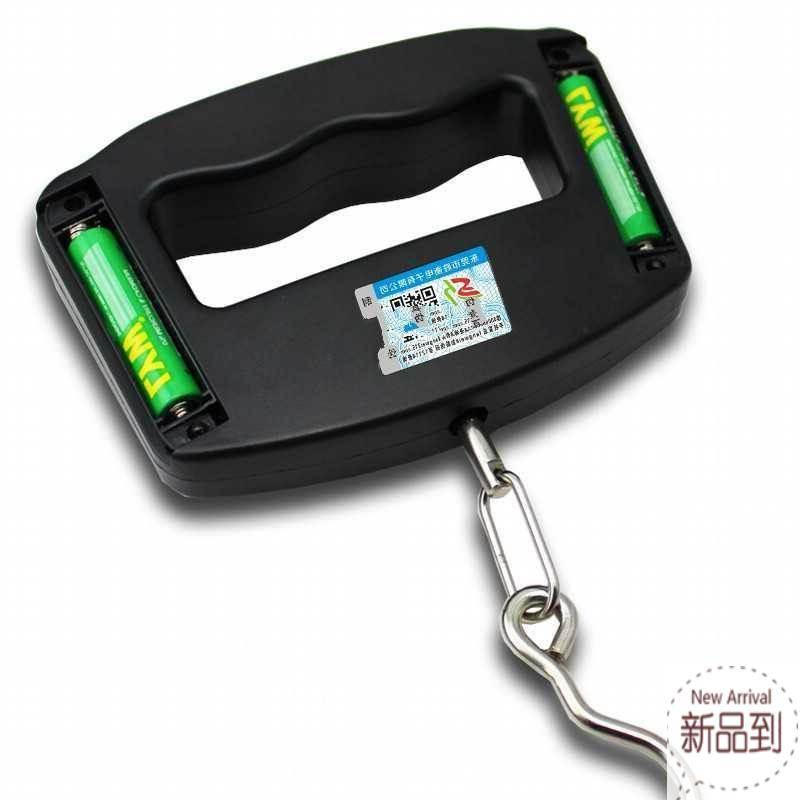 High precision hand scale electric spring scale 50 Mini spring scale express scale luggage weighing machine number portable hanging scale hook