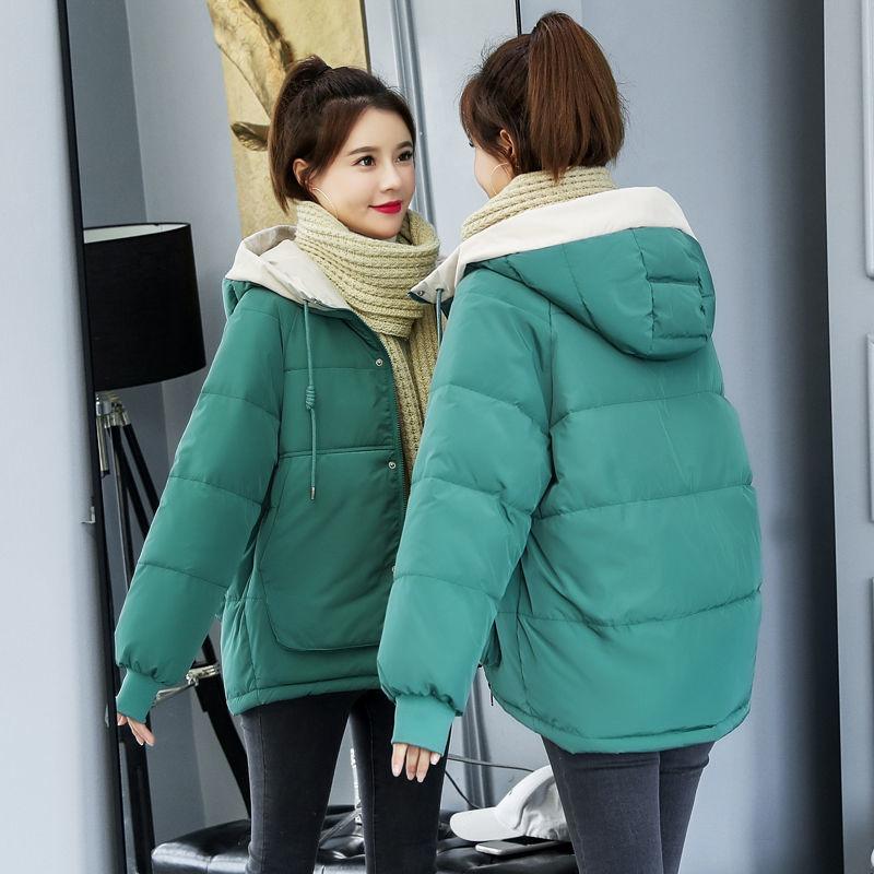 羽绒棉服女短款冬季2020新款韩版ins面包服棉袄宽松加厚棉衣外套