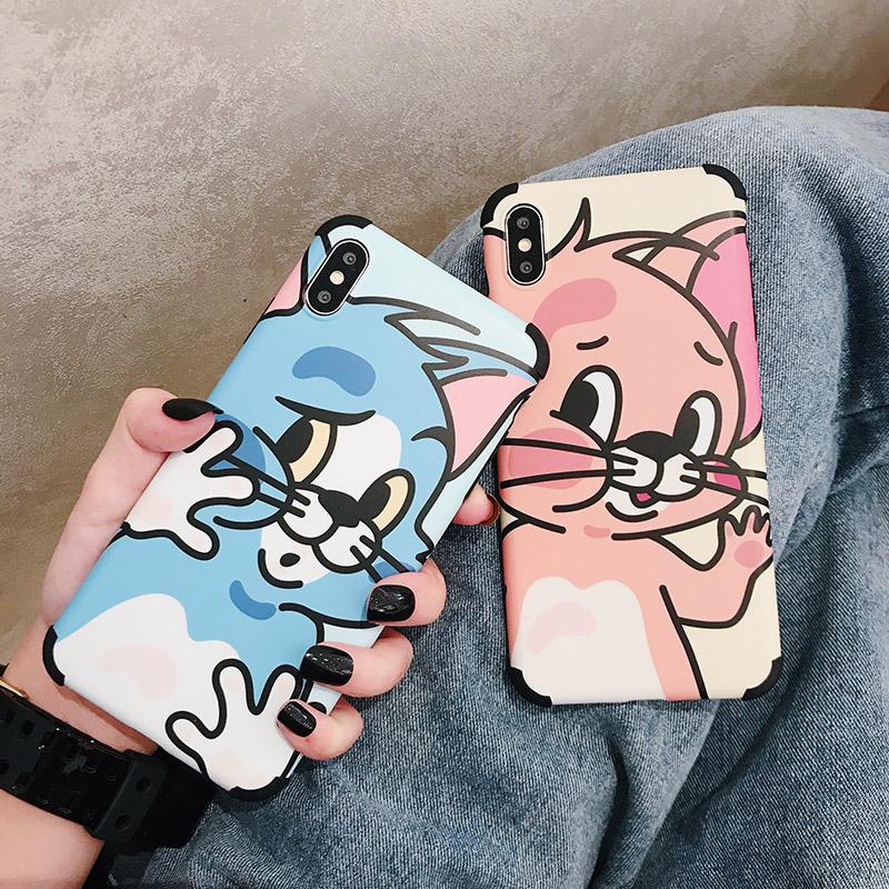 趣味猫和老鼠8plus苹果女xr手机壳限8000张券