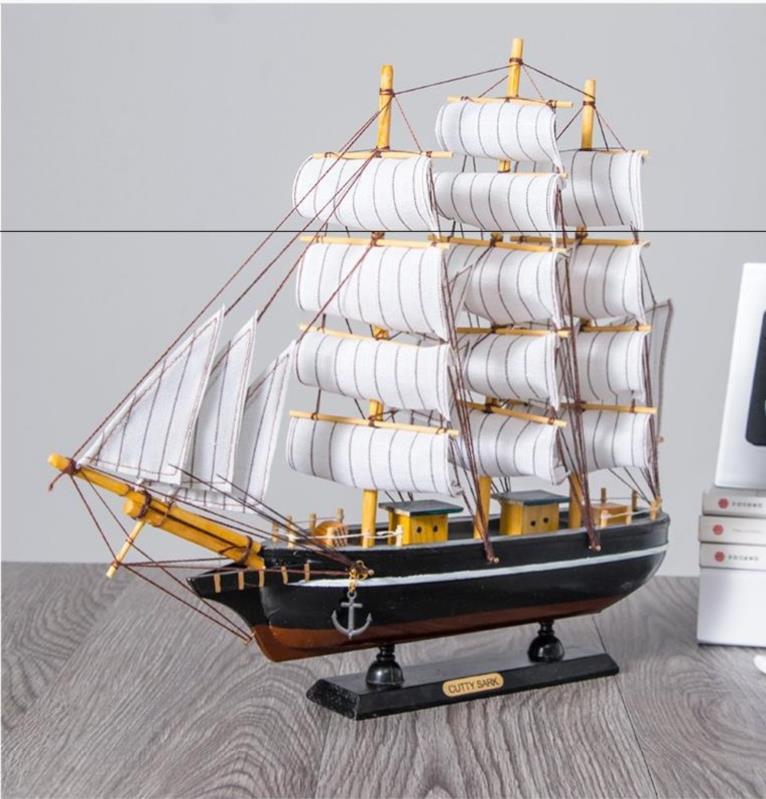 酒柜摆设品乔迁家居摆件装饰客厅办公室墙柜帆船酒架屏风柜电视桌
