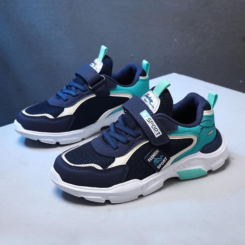 童鞋男童运动鞋2021春夏季新款儿童跑步鞋小学生男女童网面休闲鞋