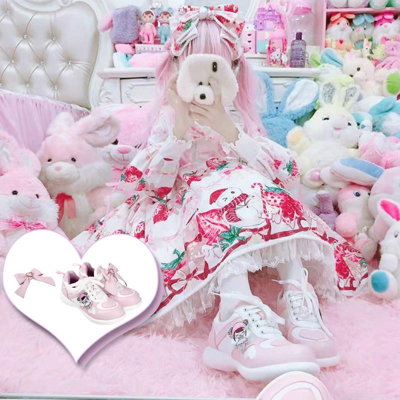 [Full pre sale] original Lolita low top sweetheart running Lolita JK running shoes