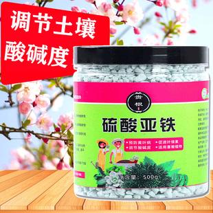 硫酸亚铁花用通用养花铁肥花肥料溶液酸性植物家用盆栽杜鹃栀子花