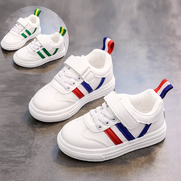 Children's small white shoes 2021 autumn breathable boys and girls shoes shoes leather wild 3 single shoes children 4 children's shoes 6 years old 5