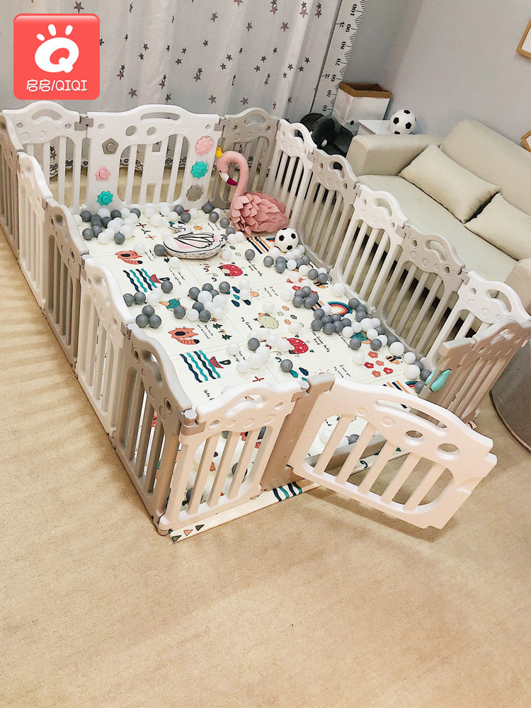 Newborn necessities childrens fence paradise fence indoor climbing pad household baby baby crawling mat toy