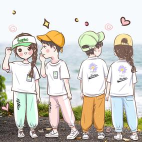 童装男童女童夏装2020新款防蚊裤