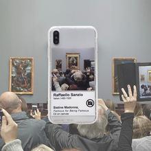 7plus套6 文艺油画iPhoneXsmax手机壳防摔软壳苹果8plus外壳xs