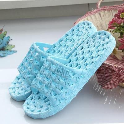 Household sandals indoor home quick drying light slippers bathroom antiskid bath water leakage sole with holes and holes