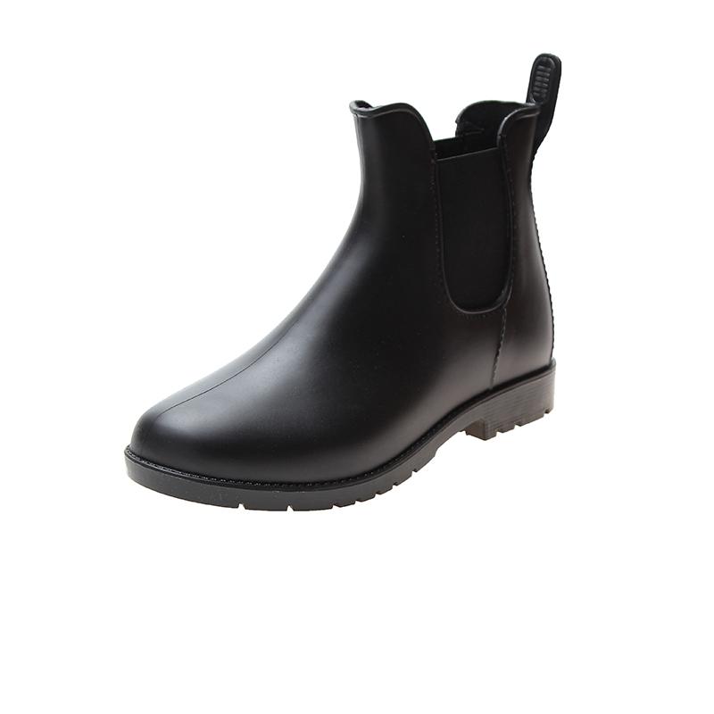 都市欧美时尚加绒短筒保暖低帮雨靴评价如何