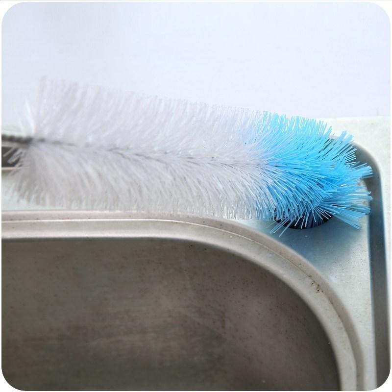 弯曲可下水道管道清洁毛发刷子厨房水池卫浴器加长疏通清理器水槽