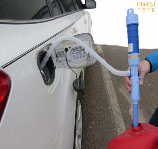 电动抽油管自动抽油器鱼缸换水器油抽输油管创意驾车个人汽车用品