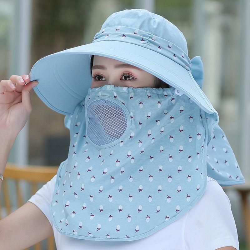 致哉帽子女夏季防晒防紫外线遮脸挡太阳帽新款百搭大帽檐遮阳帽潮
