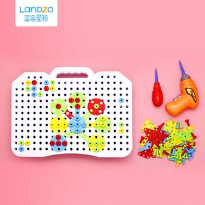 蓝宙/LANDZO 儿童动手拆装拧螺丝组合拼装宝宝智力拼图益智玩具
